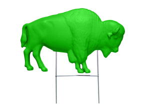 The Original Green Buffalo Lawn Ornament