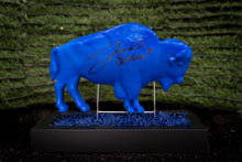 Load image into Gallery viewer, Josh Allen Autographed Blue Buffalo On Buffalo Turf Company Base