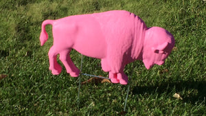 The Original Pink Buffalo Lawn Ornament (26 Shirts)