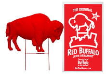 Load image into Gallery viewer, The Original Red Buffalo Lawn Ornament