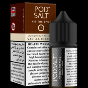 POD SALT 20MG 30ML VANILLA TOBACCO