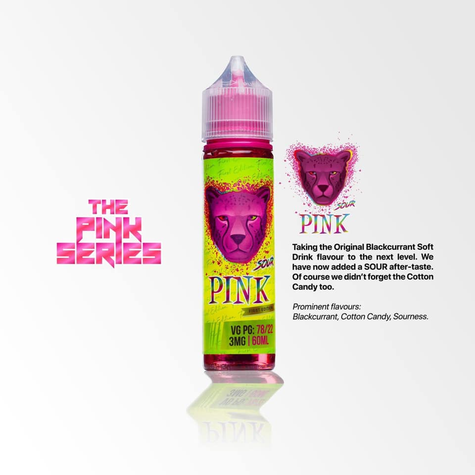 PINK PANTHER SOUR 3MG 60ML