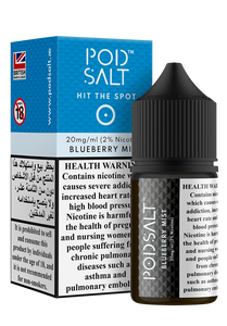 POD SALT 20MG 30ML BLUEBERRY MIST