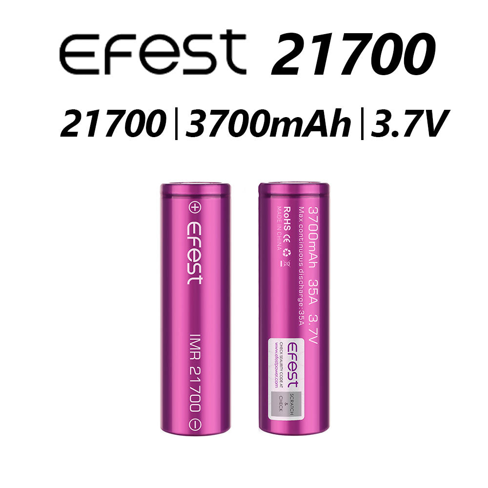 EFEST BATTERY IMR 21700 1 PC
