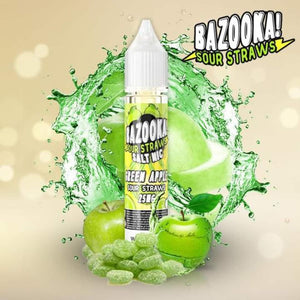 BAZOOKA SALTNIC GREEN APPLE ICE