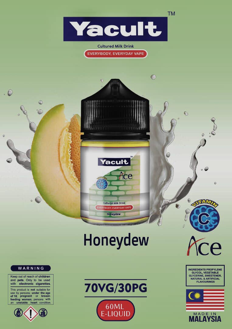 YACULT HONEYDEW E-LIQUID