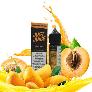 JUST JUICE MANGO PASION FRUIT 3MG