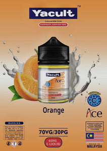 YACULT ORANGE E-LIQUID