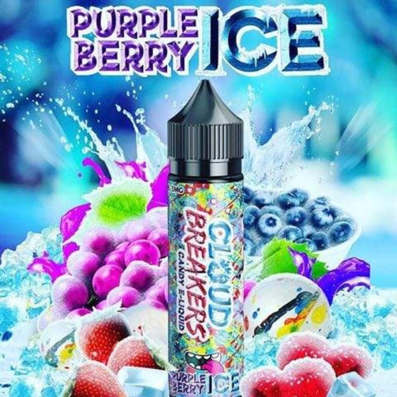 PURPLE BERRY ICE CLOUD BREAKERS 3mg 60ml