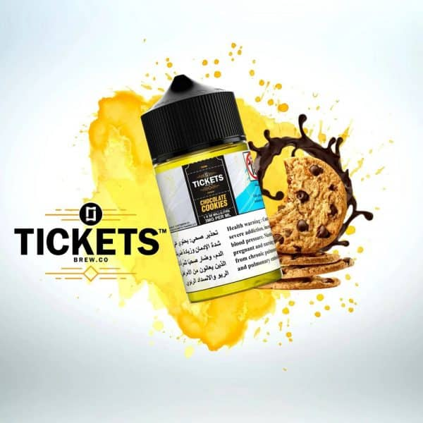 TICKETS BREW.CO CHOCOLATE COOKIES 50ML