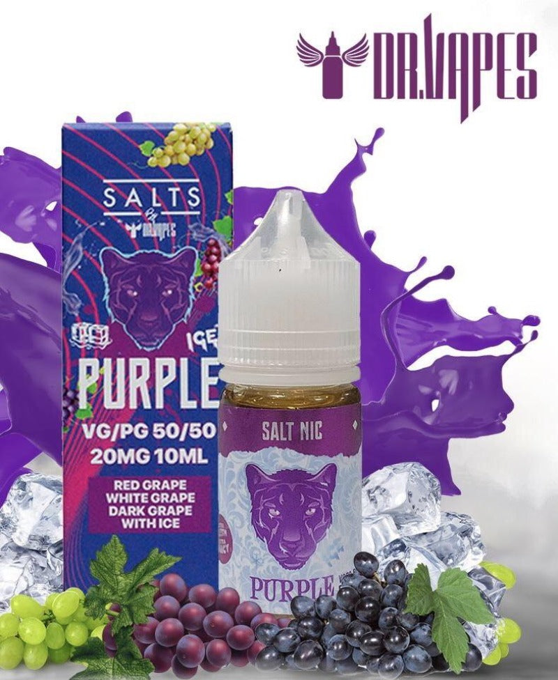 PANTHER PURPLE ICE SALTNIC