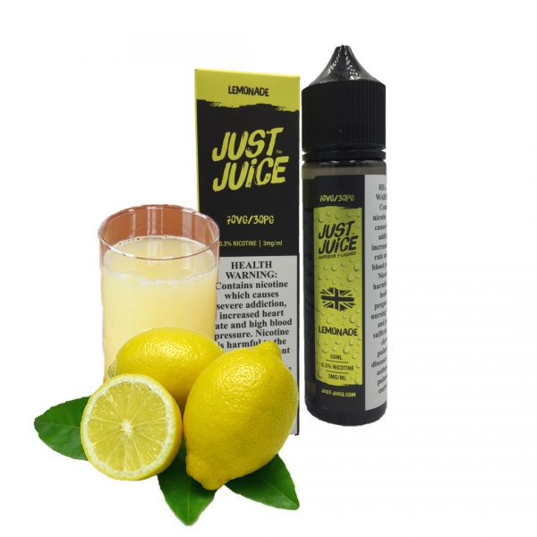 JUST JUICE LEMONADE 3MG