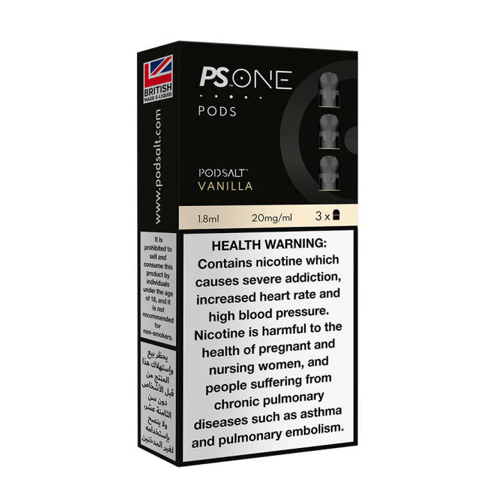 PS ONE PODS (UAE)   20MG/ML