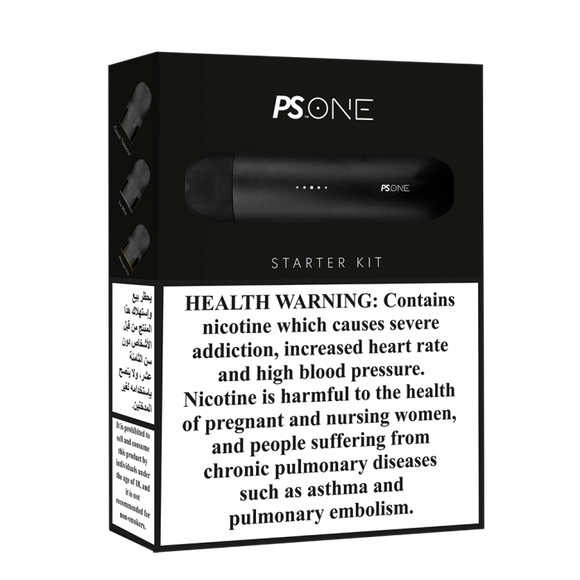 PS ONE STARTER KIT WITH 3 PODS (UAE)