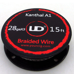 UD BUILDERS CHOICE KANTHAL A1 BRAIDED WIRE