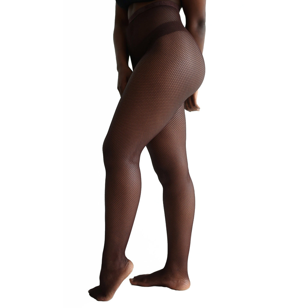 Mocha Fishnet Tights - Essence Marché