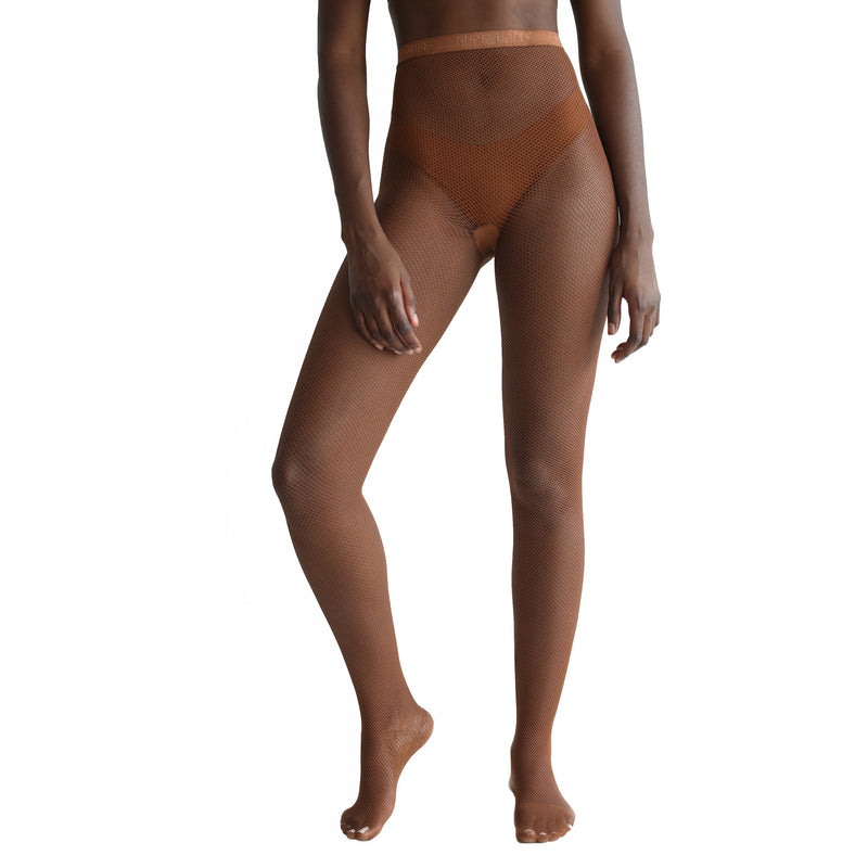 Cocoa Fishnet Tights - Essence Marché