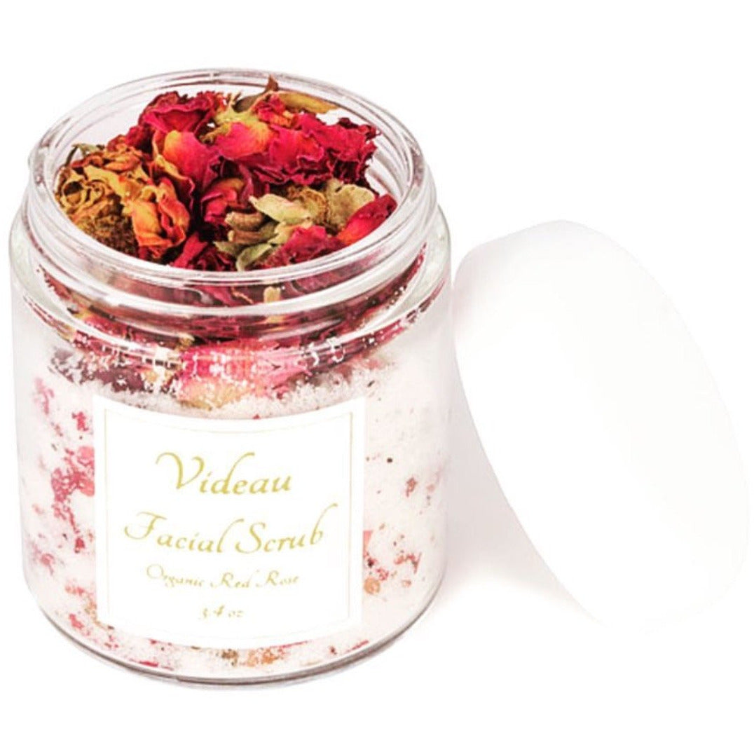 Organic Red Rose Facial Exfoliant