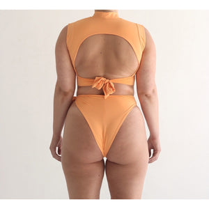 River Tie Bottom- Citrus