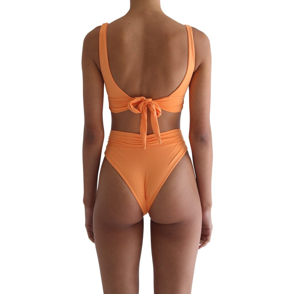 Pico High Waist Bottom- Citrus
