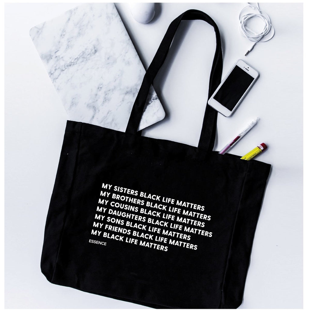 My Black Life Matters Tote Bag