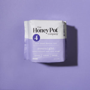 Overnight Herbal Menstrual Pads - Essence Marché
