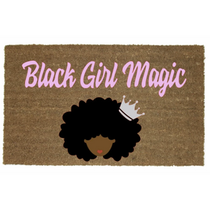 BLACK GIRL MAGIC MAT
