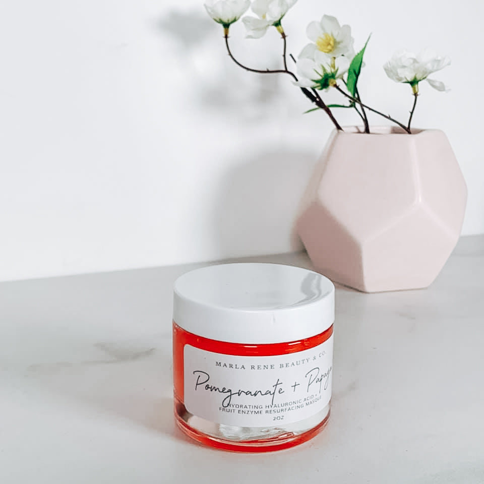 Pomegranate and Papaya Hydro Derma Exfoliating Mask