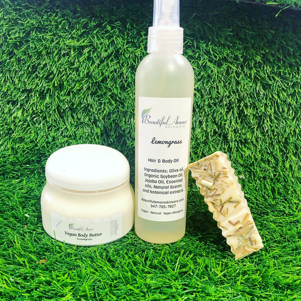 Lemongrass Eczema Care Bundle
