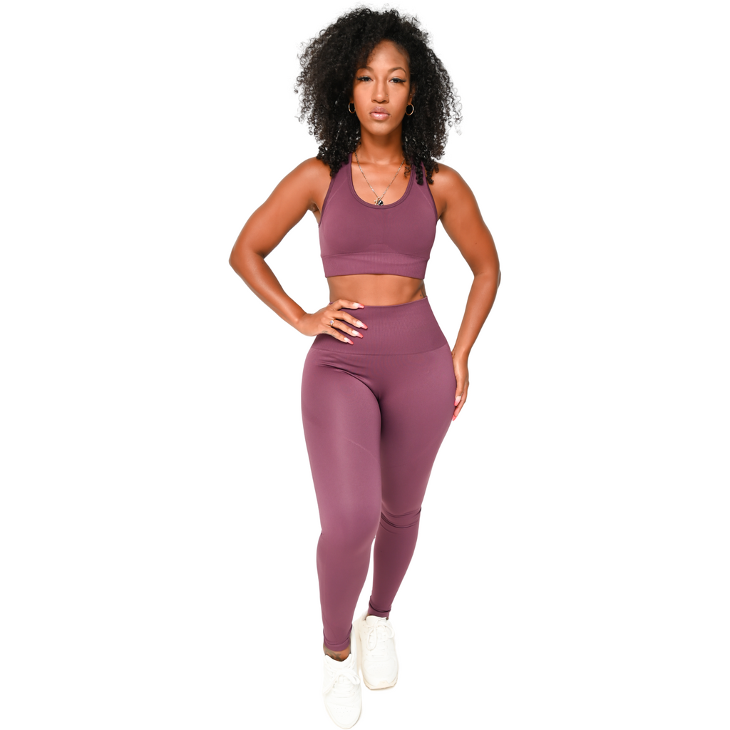 Shavo Seamless Set - Purple