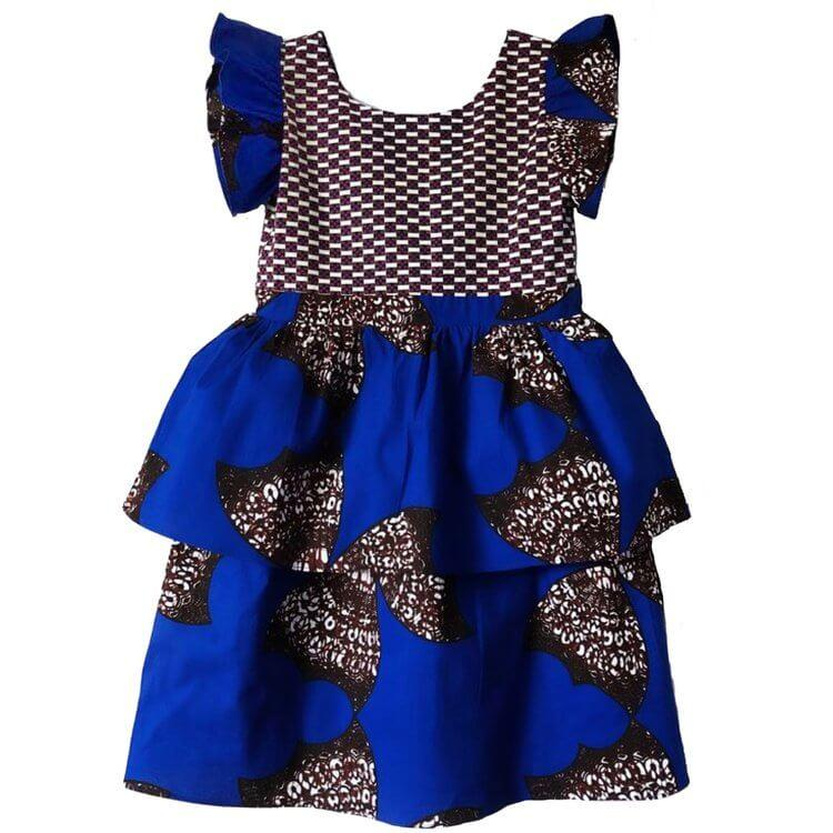 Lola African Print Dress (Girls)