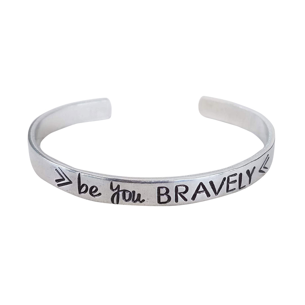 Be You Bravely Cuff Bracelet - Essence Marché
