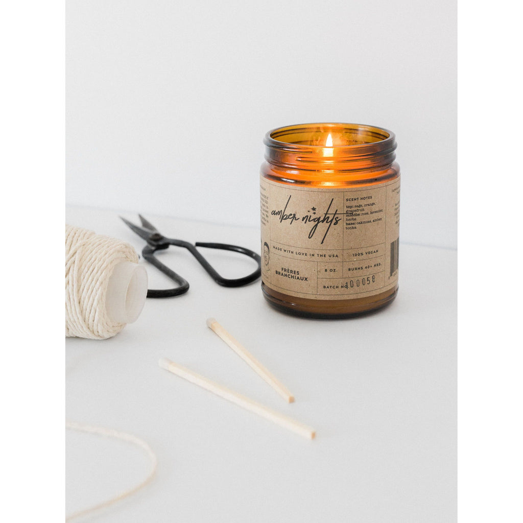 Amber Nights Candle