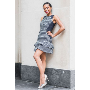 Money Moves | Fit-and-Flare Dress