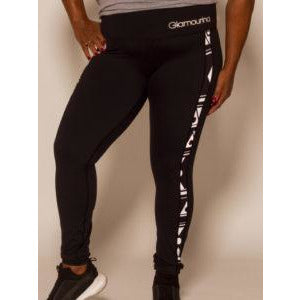 Bahira Black Leggings