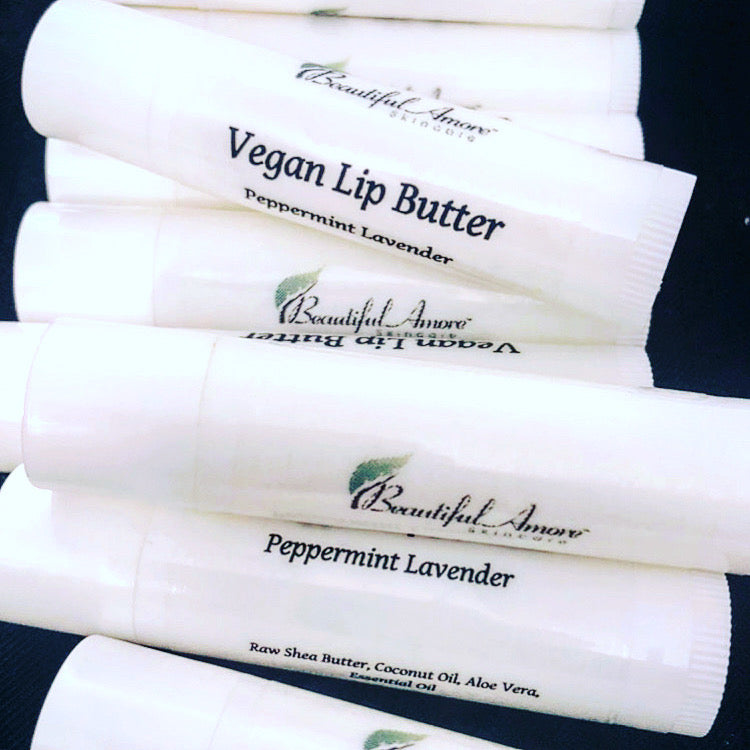 Peppermint Lavender Vegan Lip Butter