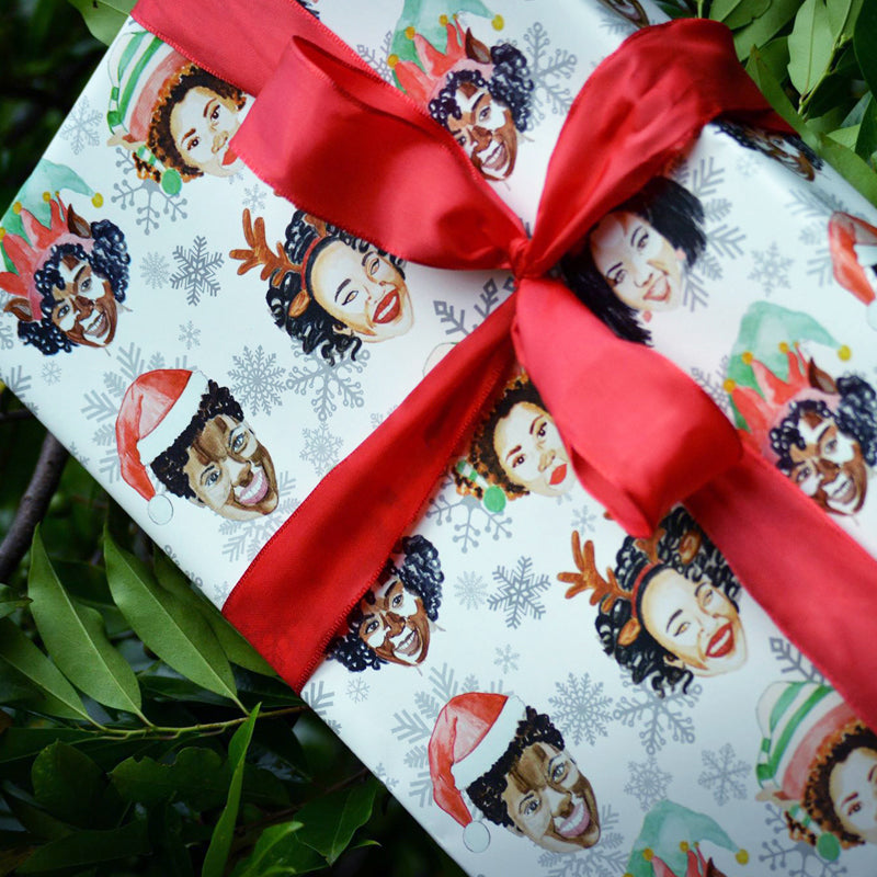 Naturalistas Wrapping Paper