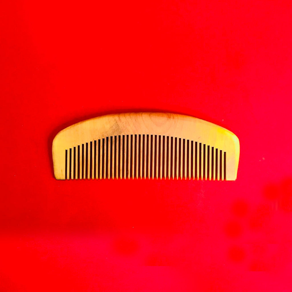 Peachwood Beard Comb