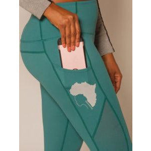 Ghanima Green Leggings