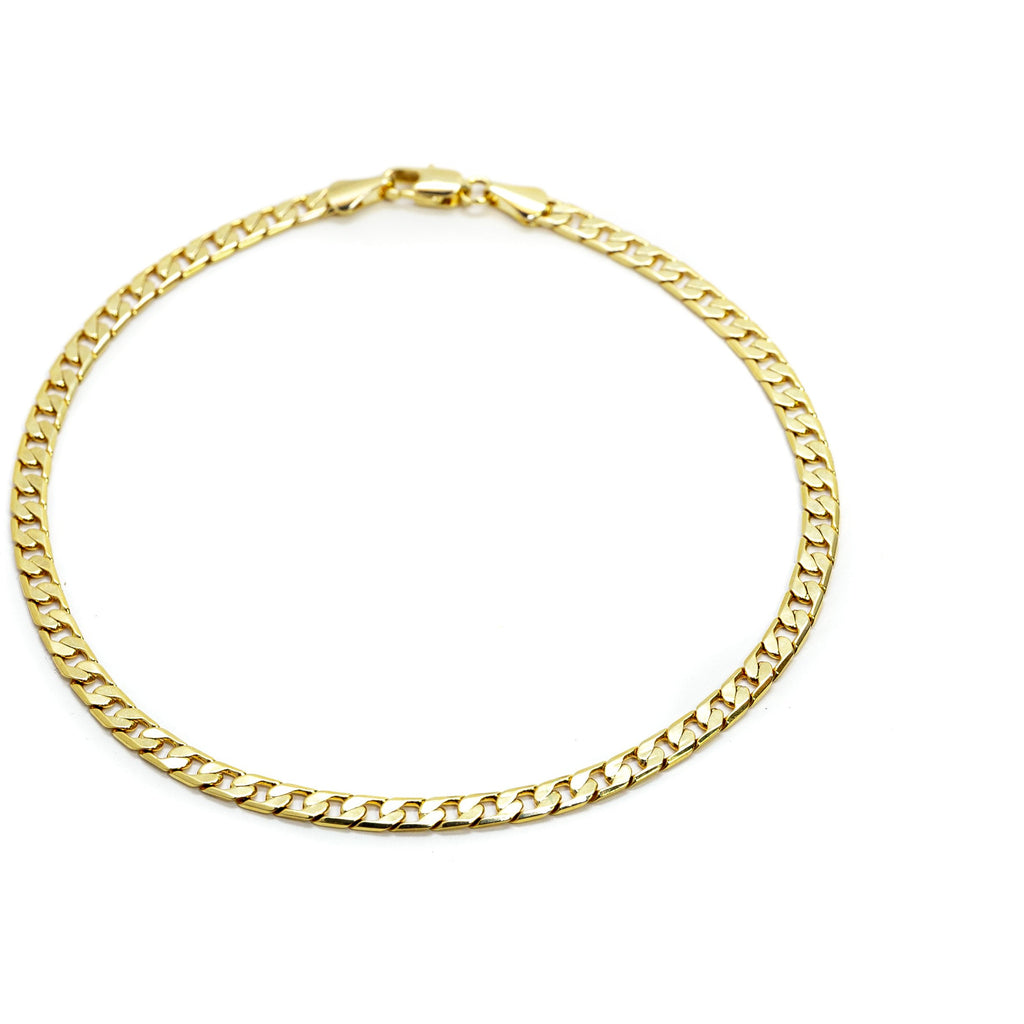 18K Gold Filled Classic Chain Anklet
