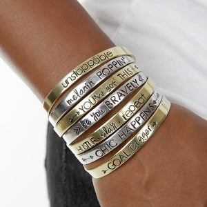 You've Got This Cuff Bracelet