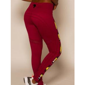 Rehani Red Leggings