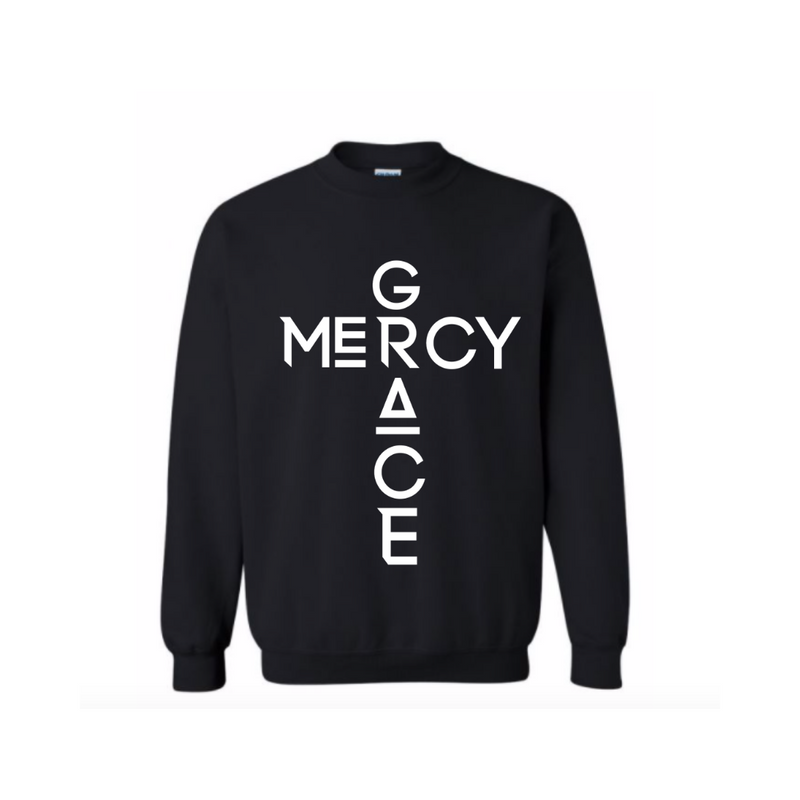 Grace and Mercy Crewneck Sweatshirt - Kids