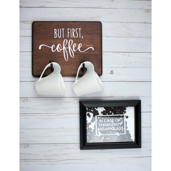 Coffee Mug Holder and Sign Craft Kit