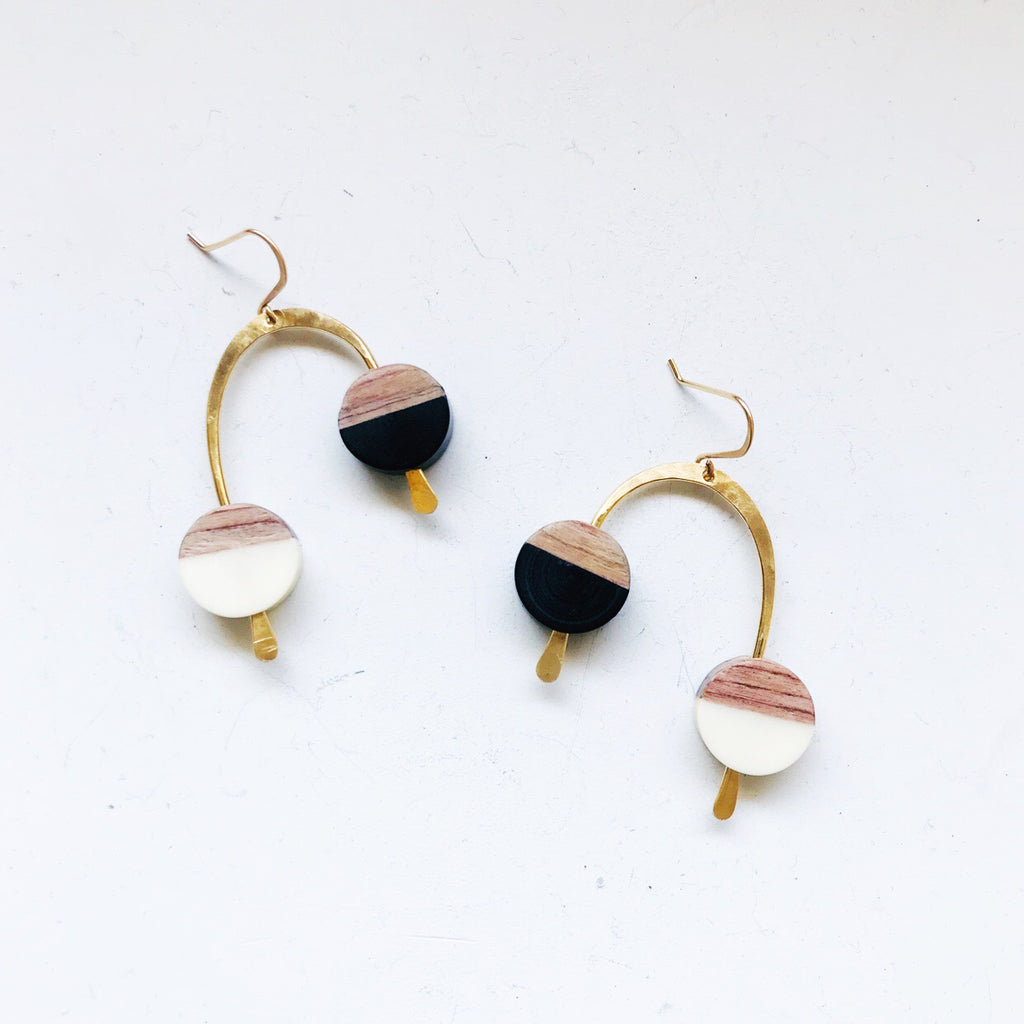 Roxie Earrings - Black