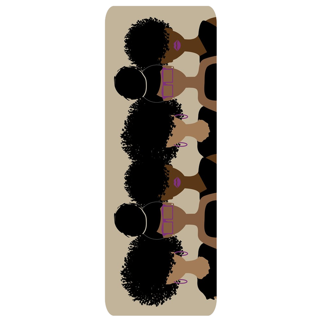 Curly Girl Trio Yoga Mat