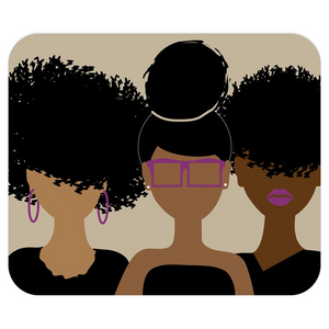 Curly Girl Trio Mousepad
