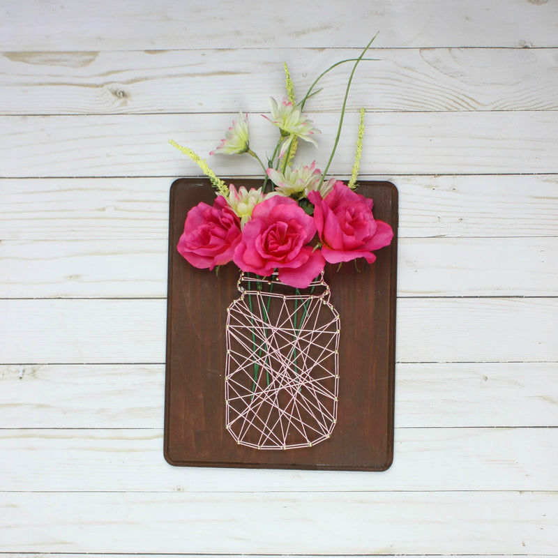 Mason Jar String Art Craft Kit - Essence Marché