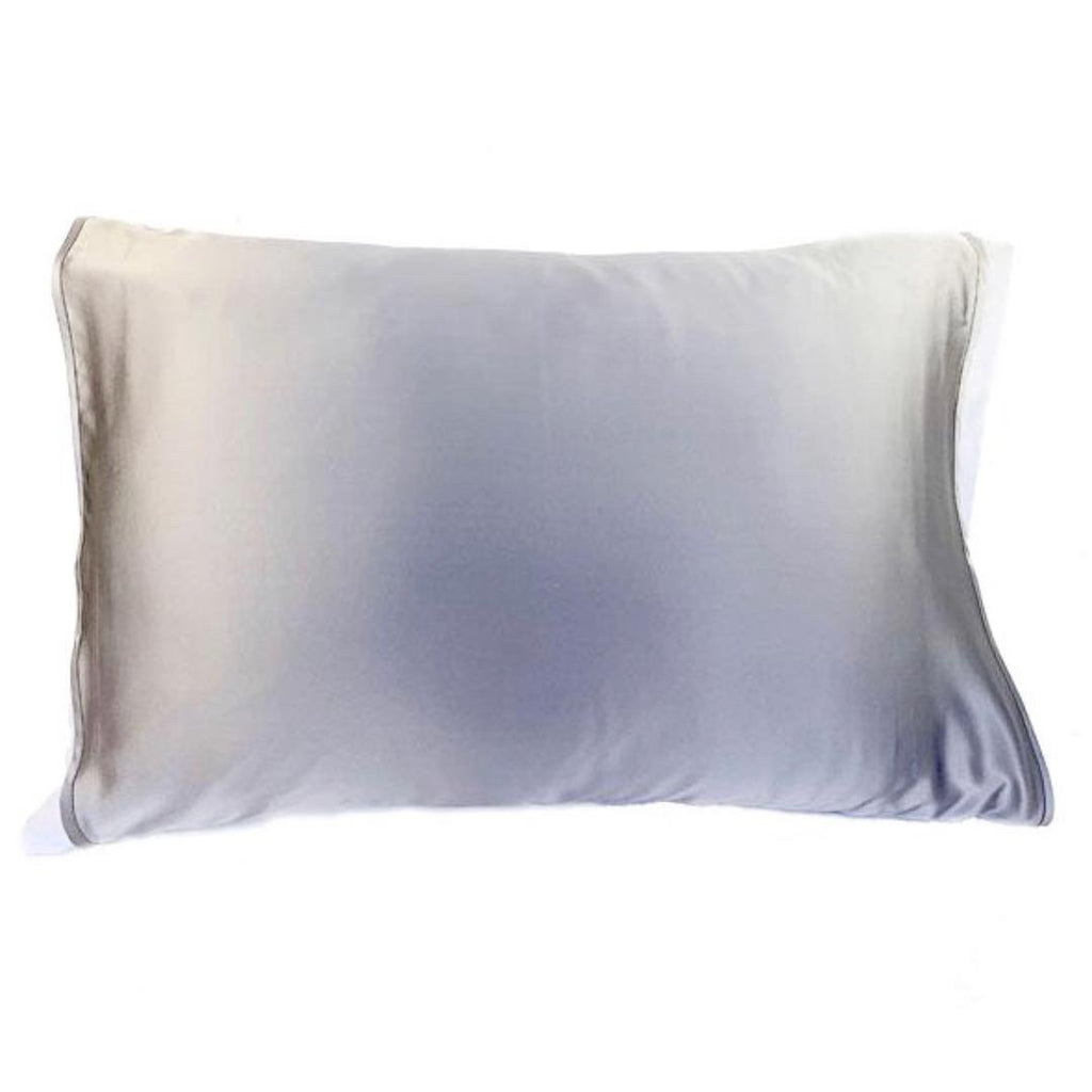 Grey Silk Pillow Sleeve CODE: CLASSIC15 for 15% OFF!