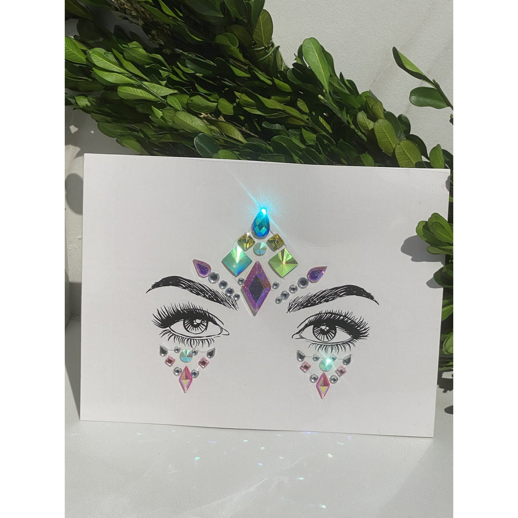 Quon's Eyes Face Gems- Moonchild